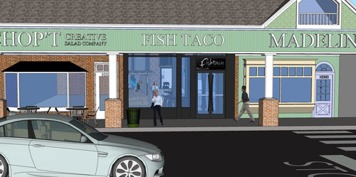 Robert dyer bethesda row new renderings of fish taco at for Fish taco bethesda