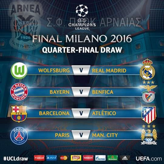 CHAMPIONS LEAGUE | QUARTER-FINAL