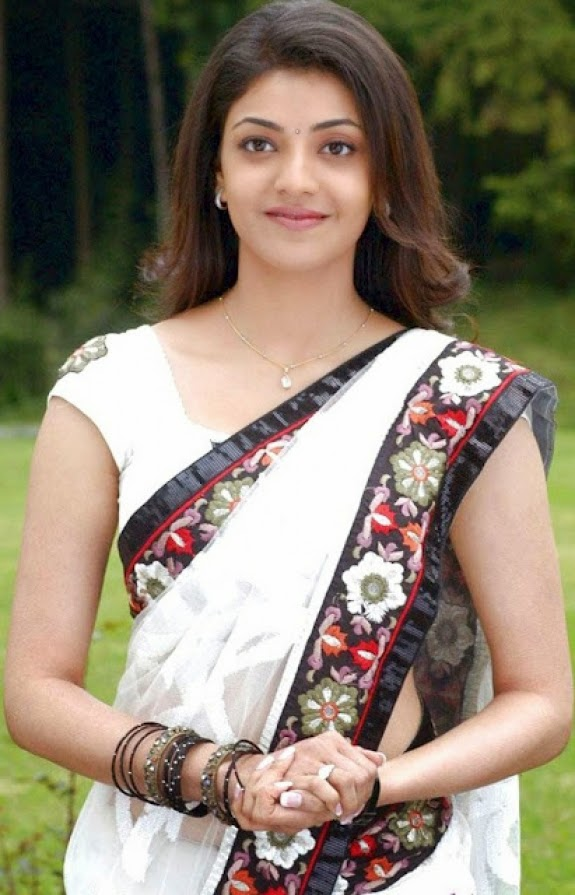Bollywood Actress Saree Collections Kajal Agraval In