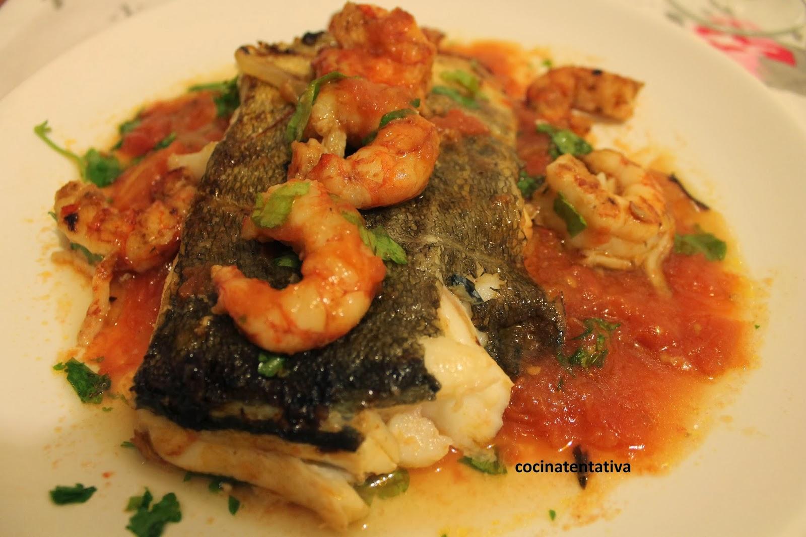 Mis recetas escondidas bacalao fresco con tomate y - Bacalao fresco con tomate ...