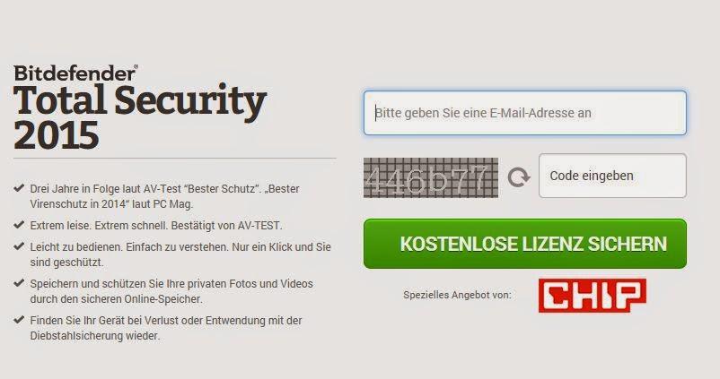 Bitdefender Total Security مفعل قانونيا لمدة سنة كاملة