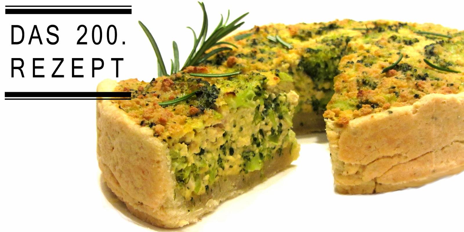 fell in love with gemuese vegane rezepte zum verlieben brokkoli quiche. Black Bedroom Furniture Sets. Home Design Ideas