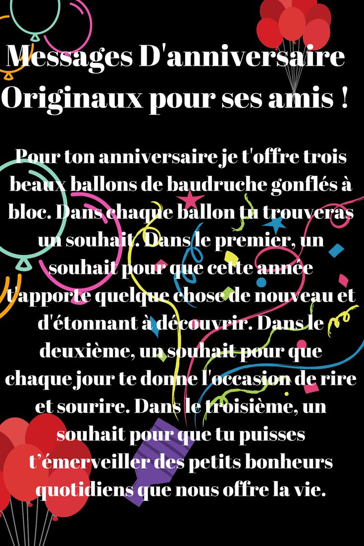 Textes D Anniversaires Rigolos 2018 Sms D Amour Et Messages Droles