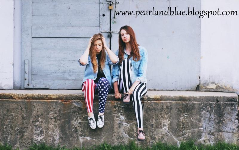 Pearl & Blue