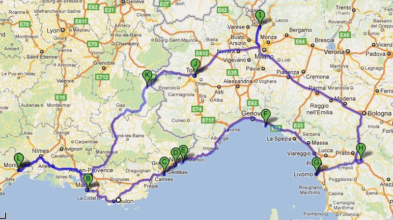 Objetivo 6 continentes destinos en mente costa azul y - Hoteles en la provenza ...