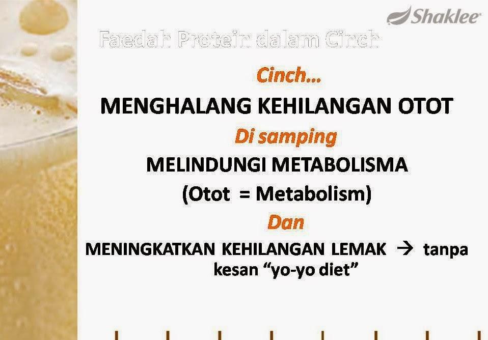 tingkatkan metabolisme
