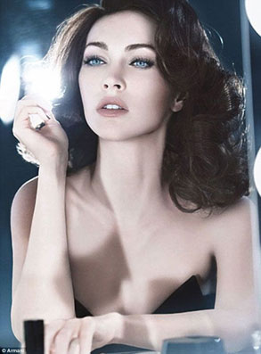 Megan Fox Armani Ad Photos