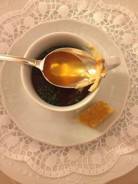 Frittatensuppe mit Kaiserschöberl © diekremserin