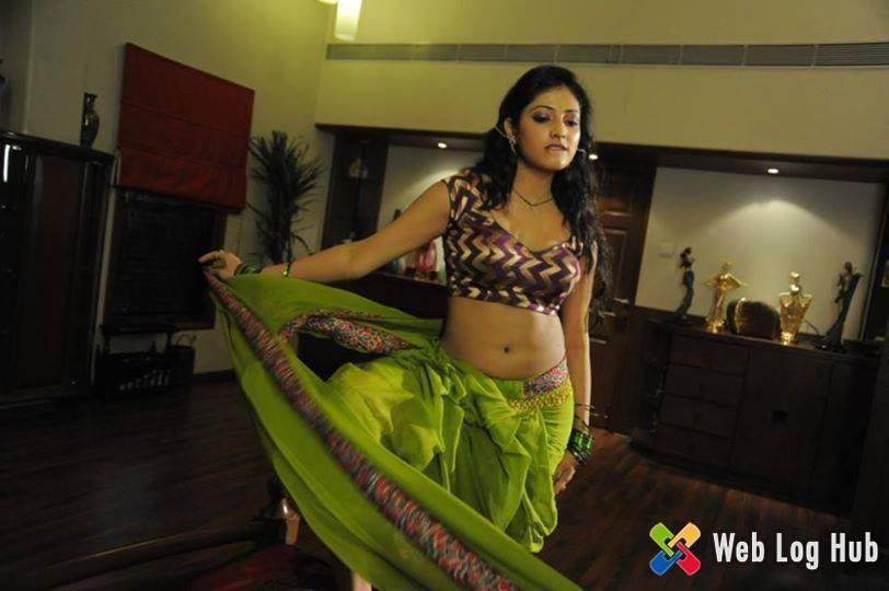 Spicy South Indian Actress Haripriya Removing her Saree in a Telugu Movie Song - Web Log Hub