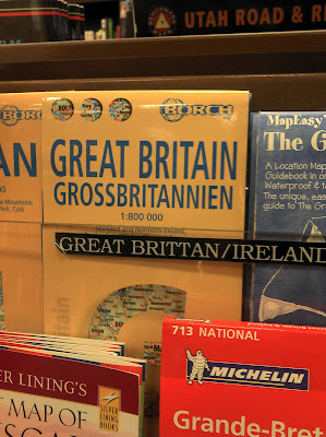 Great Britain vs Great Brittan Idaho Falls Barnes and Noble Bookstore Typo