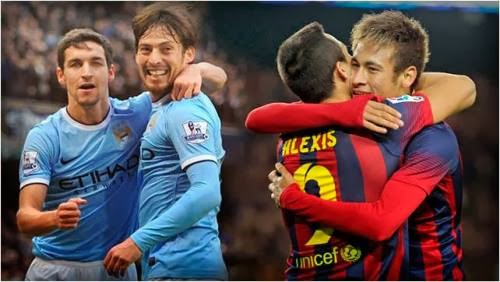 Prediksi Barcelona vs Manchester City