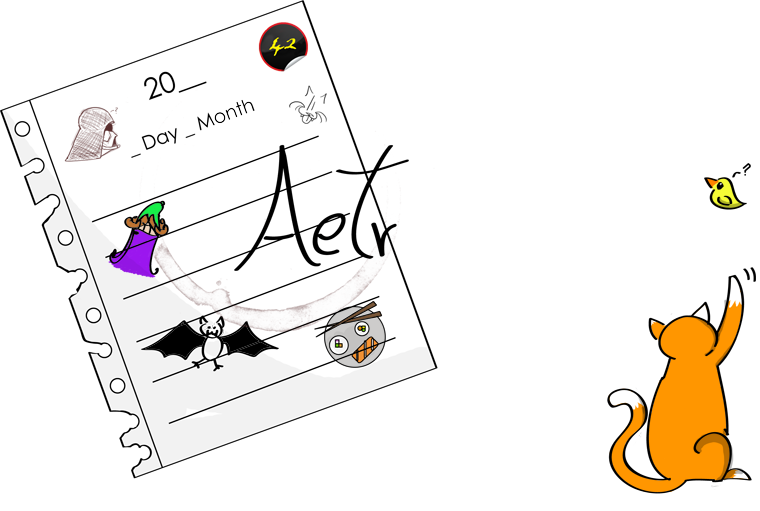 Aetria´s Diary, o blog do Cinistro