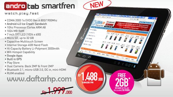 Harga Smartfren Android Tablet