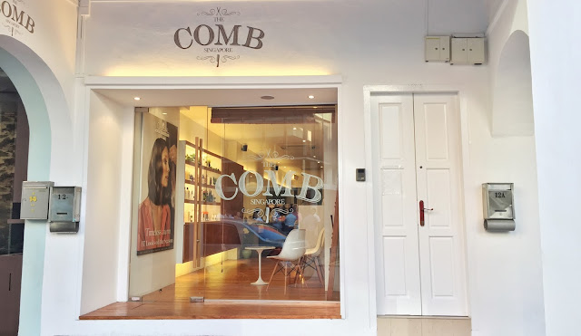 The Comb Hair Studio Singapore