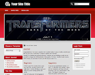 Movie Portal Joomla Template