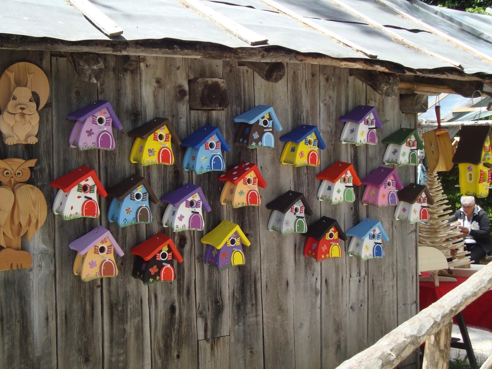 Preferenza Casette per uccellini | Foto-diario di una giardiniera curiosa RK25