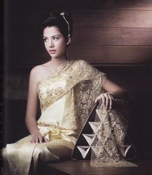Yellowdemio june 2012 for Thai style wedding dress