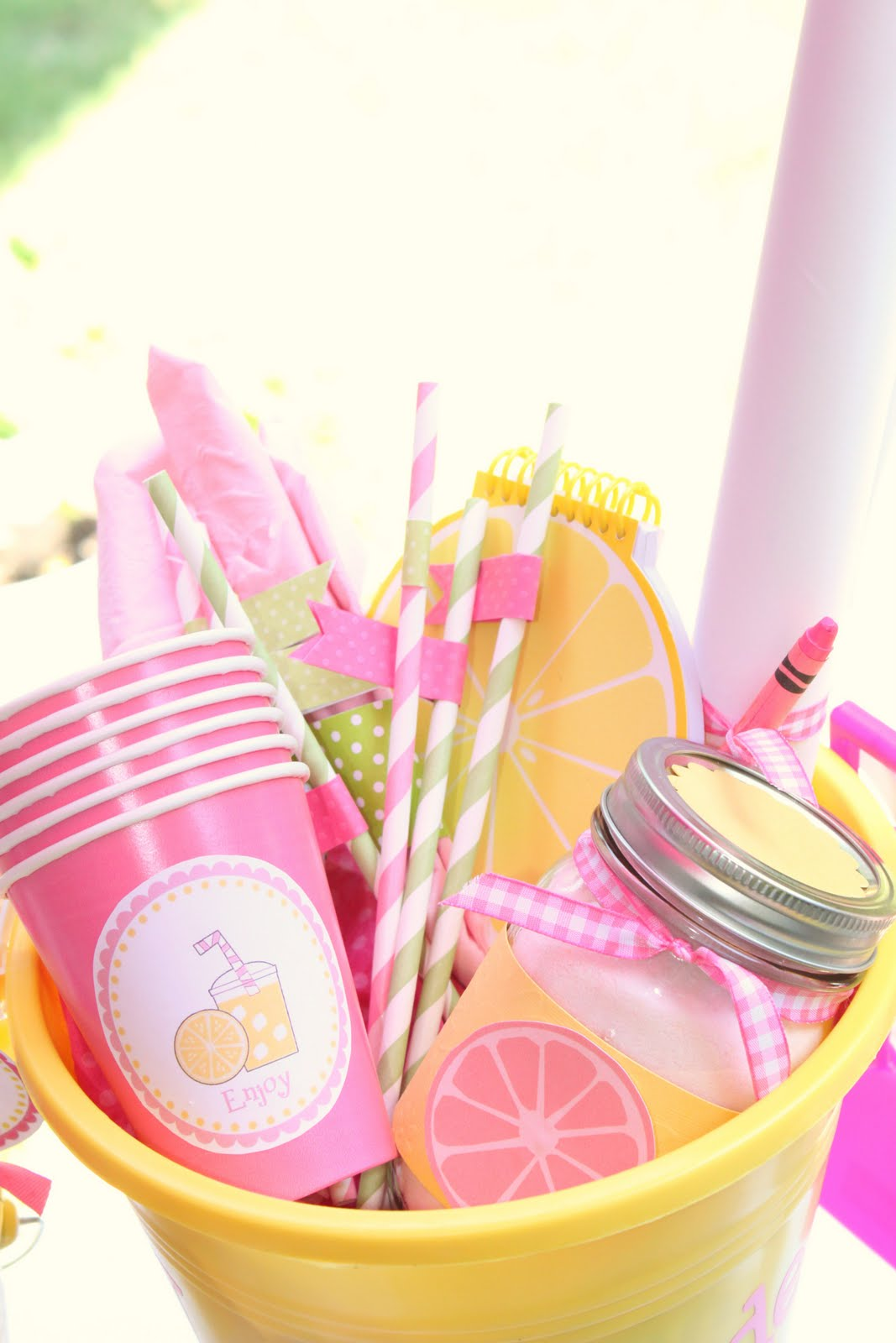 Lemonade Stand Kit Free Printable And Summer Camp Link