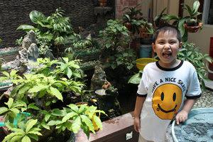 My nephew in Quảng Ngãi city
