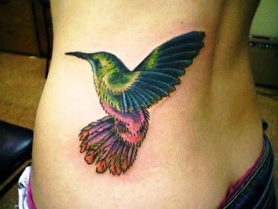 colibri tatouage tatuaje