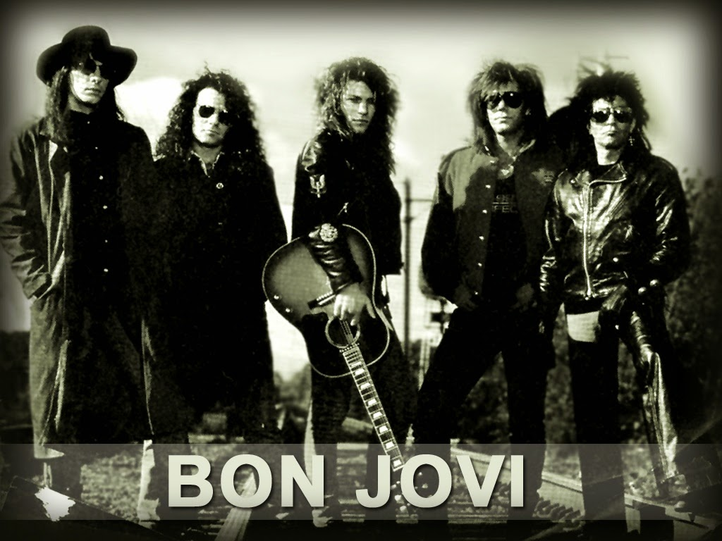 Lirik Dan Kunci Gitar Lagu Bon Jovi - Never Say Goodbye