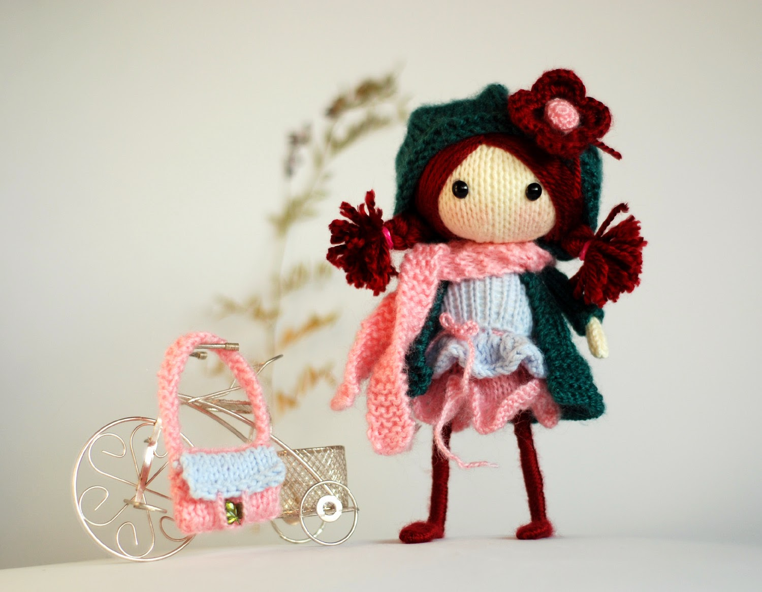 12 Knitted Doll Patterns - The Funky Stitch