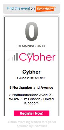 Cybher 2012
