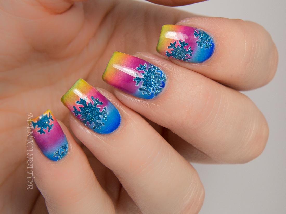 UNT-Paradise-KBShimmer-Snowflake-Sunset-Nail-Art