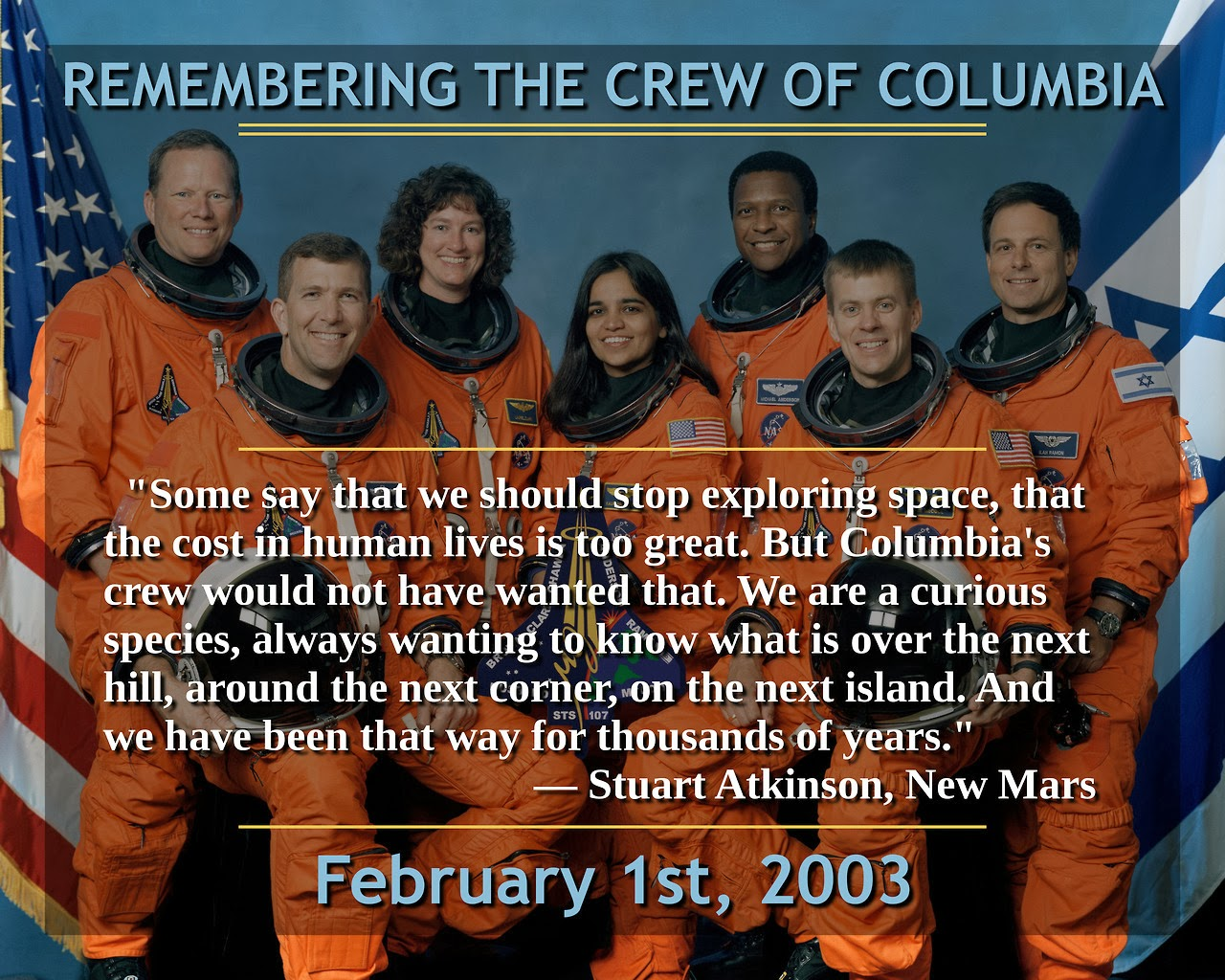 Columbia February 1, 2003