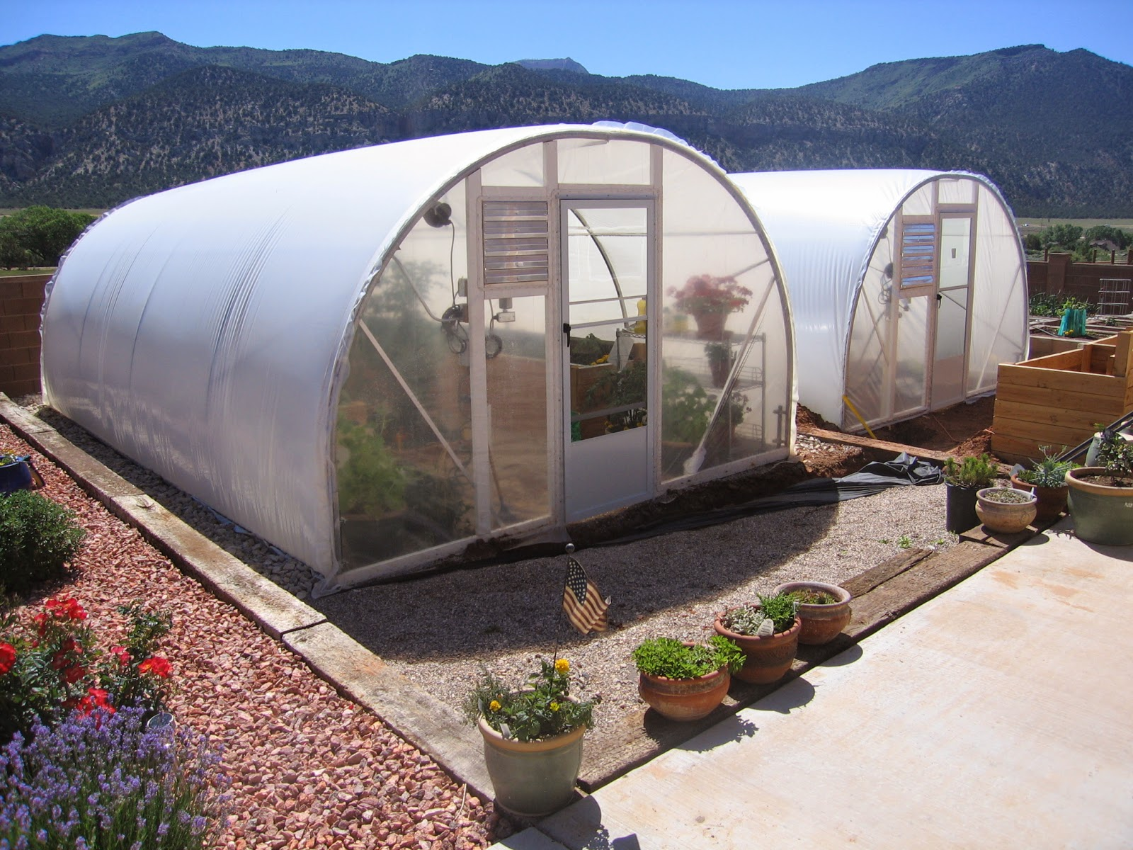 diy lean to greenhouse