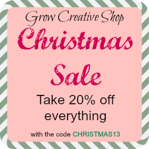 Etsy Shop Sale: Dec. 2-7