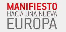 """""""Hacia una nueva Europa"""". Manifiesto PES para las Elecciones Europeas"""