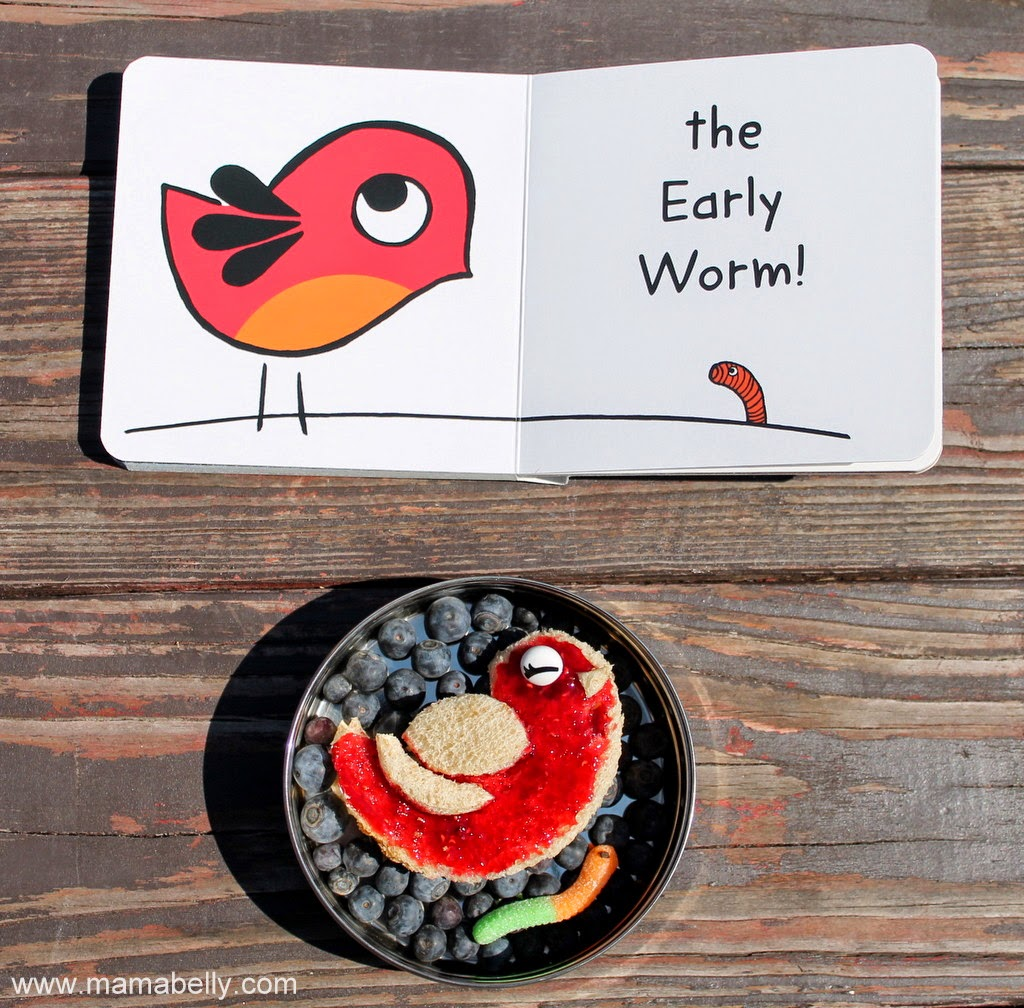 It's #LiteraryLunch time! Today with EARLY BIRD and NIGHT OWL by Toni Yuly - mamabelly.com