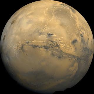 Imagen global del planeta Marte