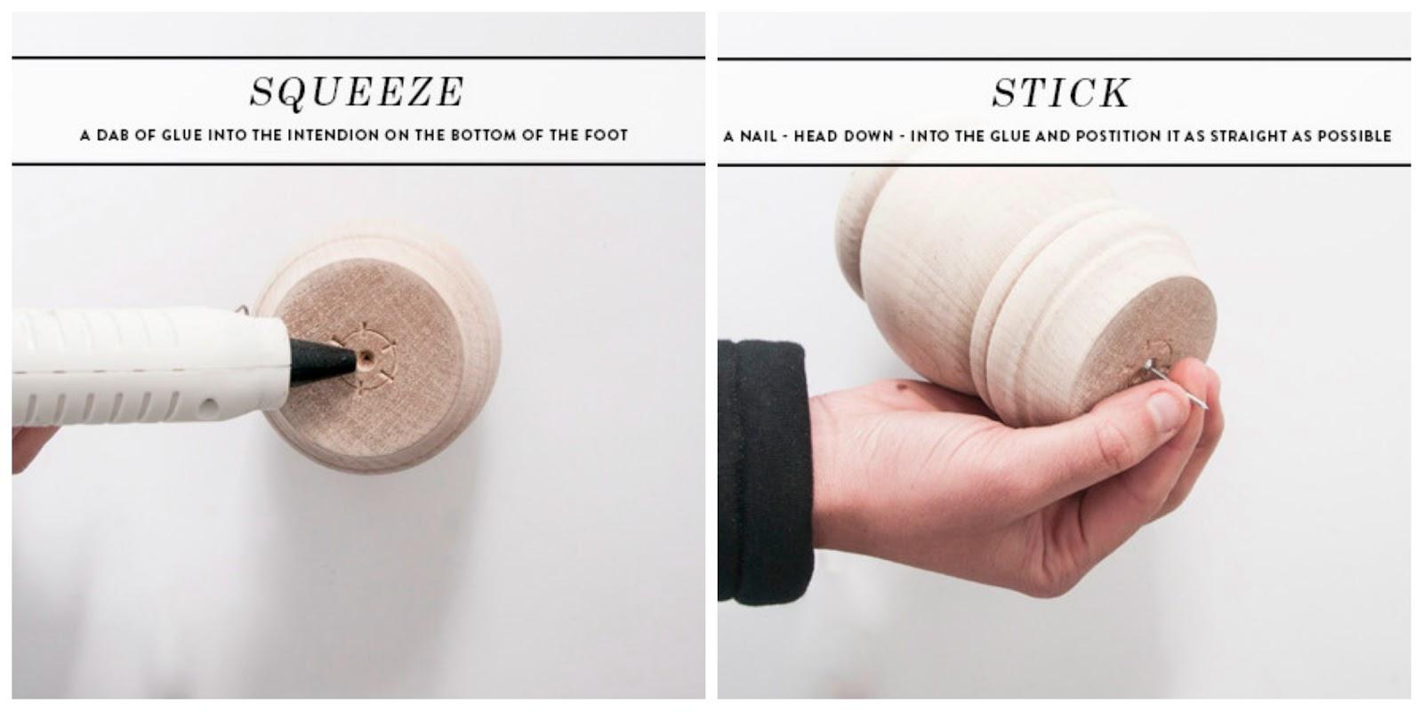 Como hacer candelabros con patas de muebles for Como hacer patas de madera para mesas