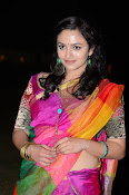 Malavika nair photos in half saree-thumbnail-4