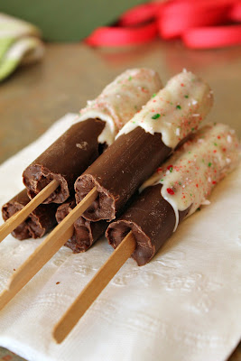 Hot Chocolate on a Stick - Turtles and Tails blog