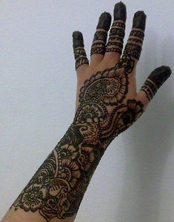 Mehndi Designs And Hairstyles : Fashion and styles latest mehndi design for bridals