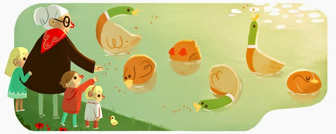Grandmother's Day 2015 (Poland) Google Doodle
