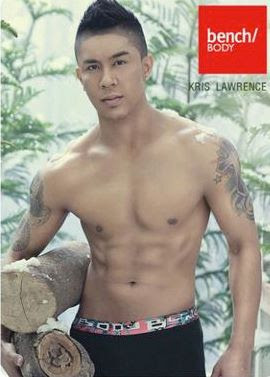 Kris Lawrence shirtless for Bench Body
