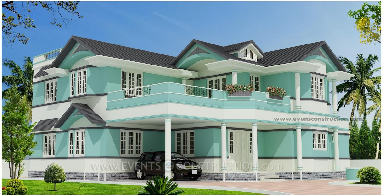 Evens Construction Pvt Ltd 304 Square Meter Luxury House