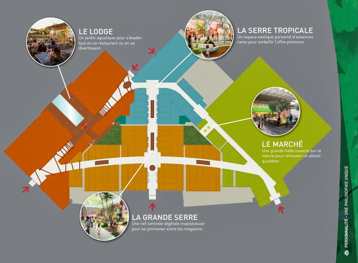 nouveau centre commercial Toulouse