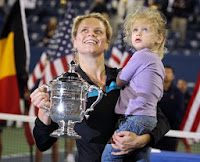 La tenista belga volvió a la competición con gran éxito tras un parón en el que fue madre