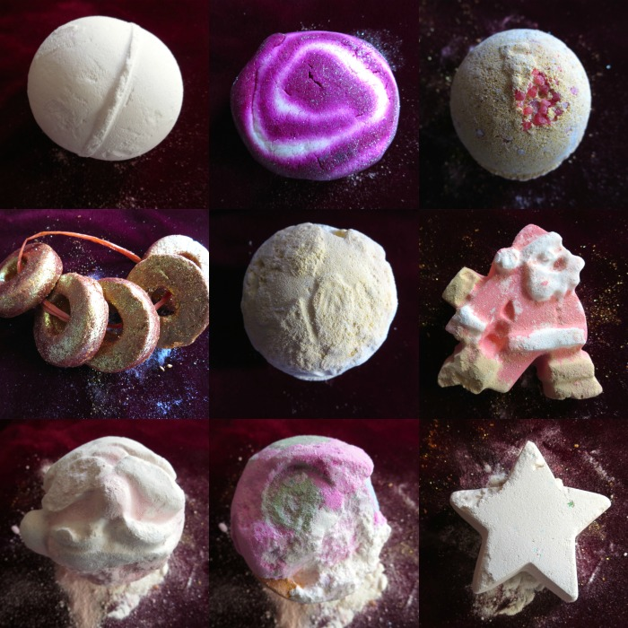 Lush bath bombs