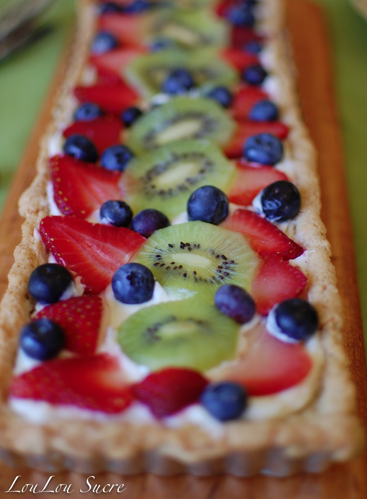 fruit pizza 1 package ready to bake sugar cookie dough 1 8 ounce ...