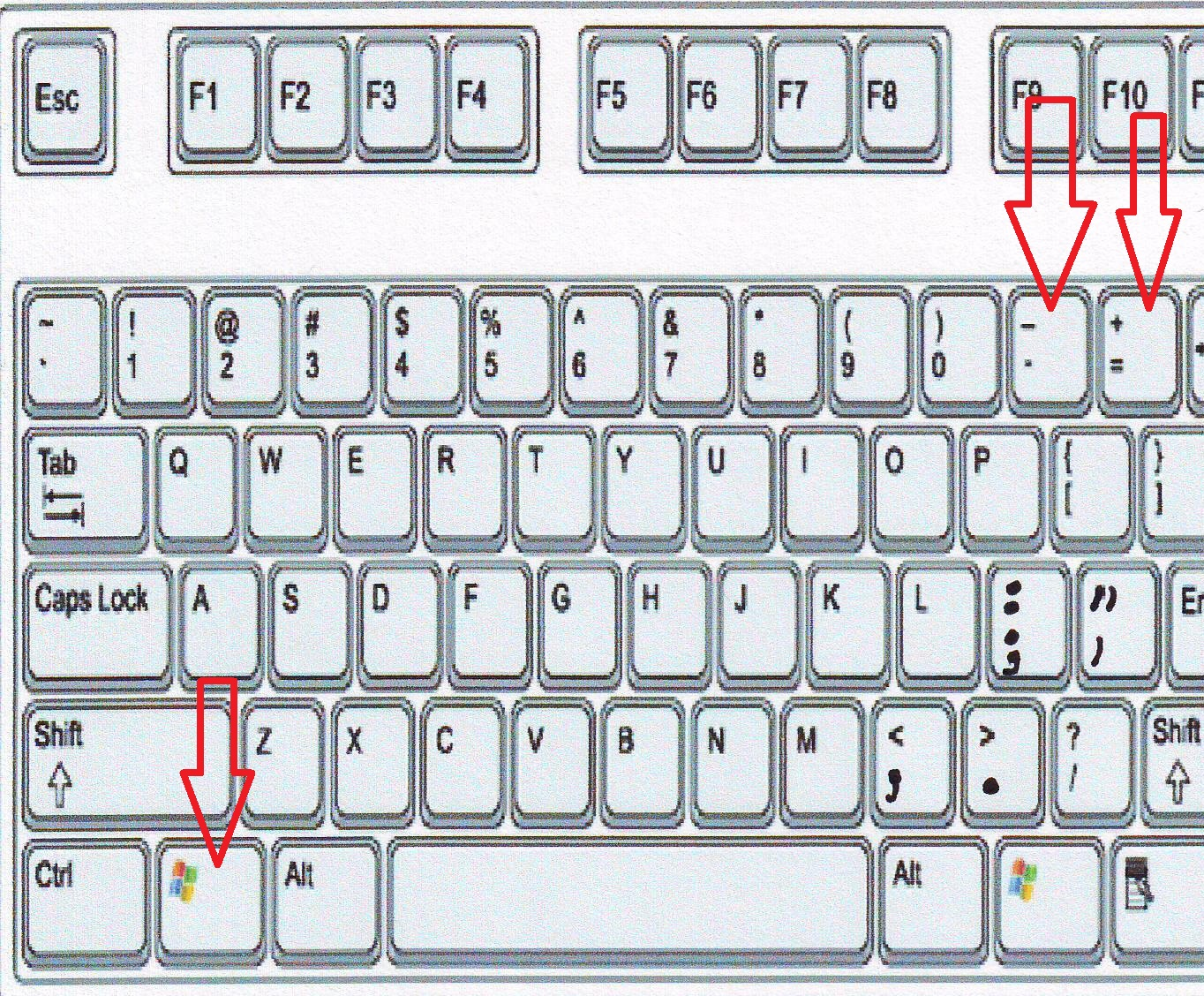 Shortcut Key To Zoom In & Zoom Out In Windows Pc (magnifier)
