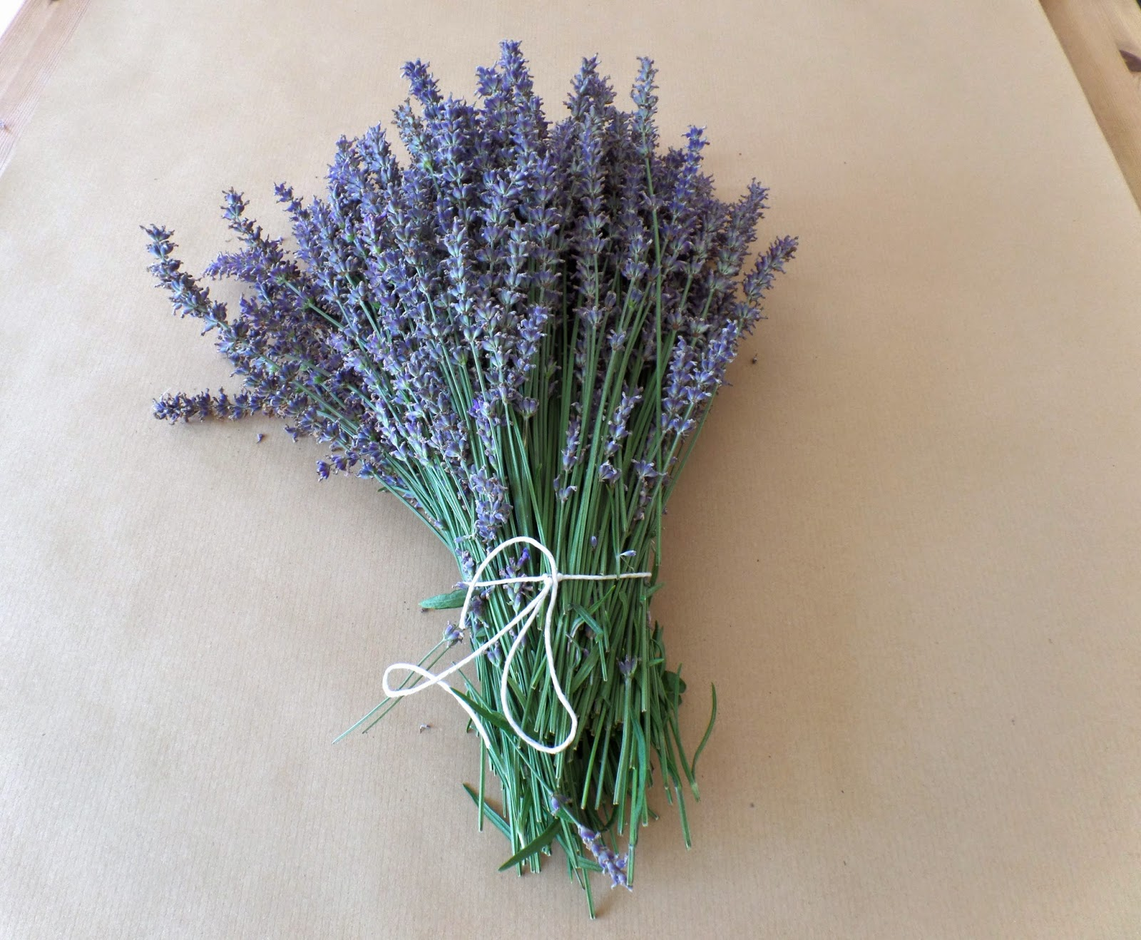 addicted to making lavender