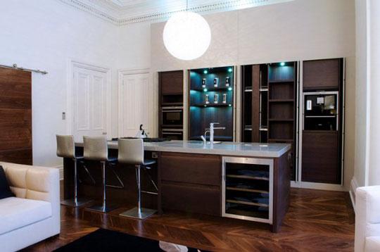 Cocinas para apartamentos de lujo ideas para decorar for Cocinas modernas para apartamentos pequenos