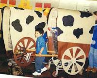 carreta como la diligencia fueron diseñados utilizando un carrito de