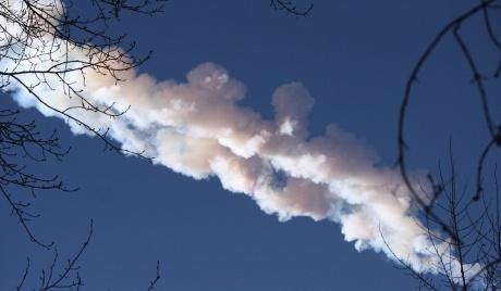ASAP dari meteorit dapat dilihat di langit.